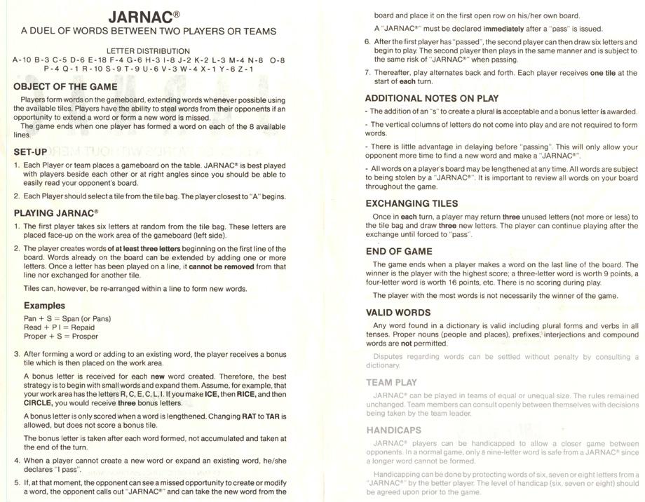 boiteajeux net • Jarnac online